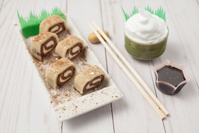 cookie dough menu sushi